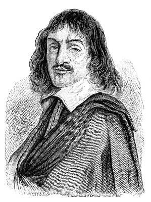 Rene Descartes Art Print by Science Photo Library