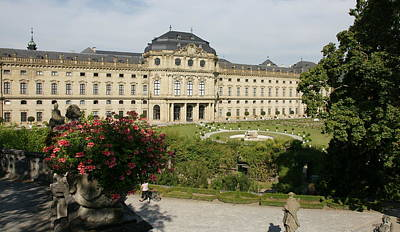 Photograph - Residenz Wurzburg  by Olaf Christian