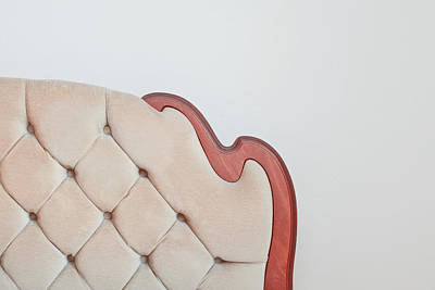 60s Photograph - Retro Upholstery by Tom Gowanlock