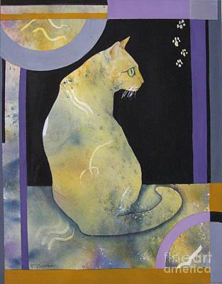 Painting - Reverie by Teresa Boston