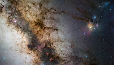 License Plate Skylines And Skyscrapers Rights Managed Images - Rho Ophiuchi Royalty-Free Image by Celestial Images