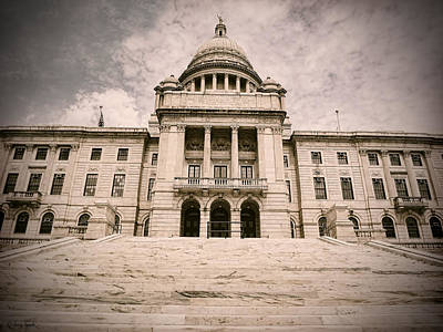 Rhode Island State House Art Print by Lourry Legarde