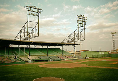 Dugouts Photograph - Rickwood Field Birmingham Alabama by Mountain Dreams