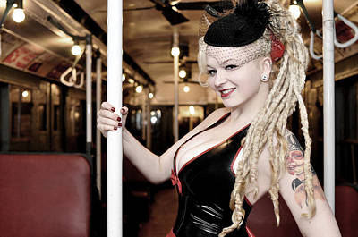 Photograph - Ride The Pinup Express by Jim Poulos
