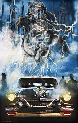 Storm Digital Art - Riders On The Storm by Larry Butterworth