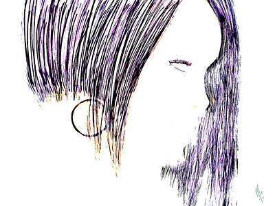 Rihanna Digital Art - Rihanna  by Mathieu Lalonde