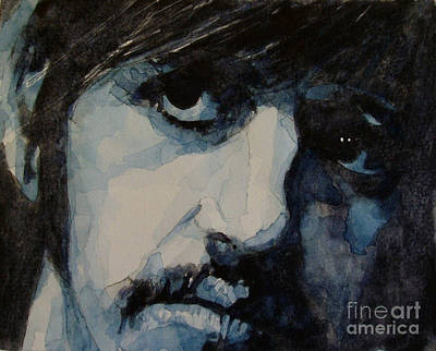 The Beatles Painting - Ringo by Paul Lovering