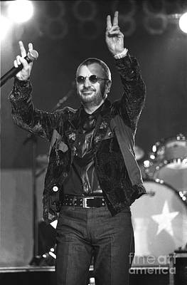 Ringo Starr And His All Starr Band Art Print by Concert Photos