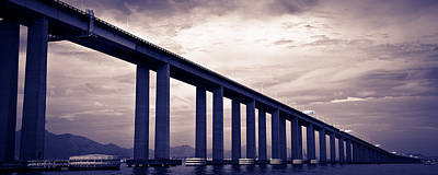 Photograph - Rio-niteroi Bridge by Celso Diniz