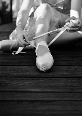 Pointe Shoes Photograph - Rituals by Laura Fasulo