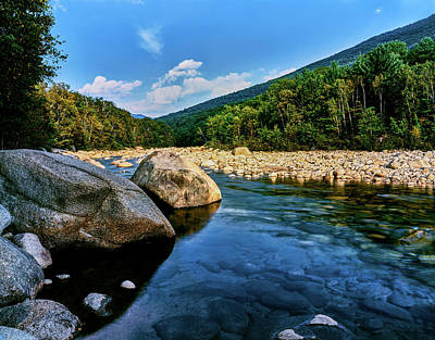 Photograph - River Flowing Through A Forest, Swift by Panoramic Images