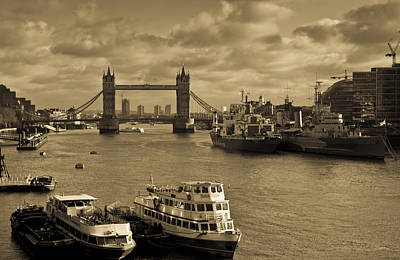 Travel Rights Managed Images - River Thames view Royalty-Free Image by David Pyatt