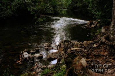 Photograph - River Through Wales by Doc Braham