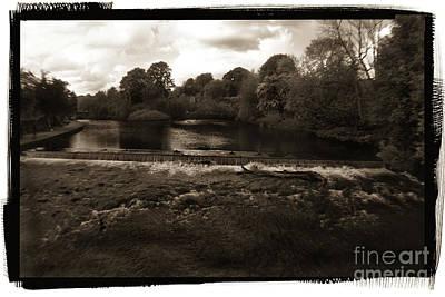 Vintage Movie Stars - River Wye - Peak District - England by Doc Braham