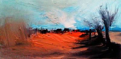 Painting - Road Home Serie by David Figielek