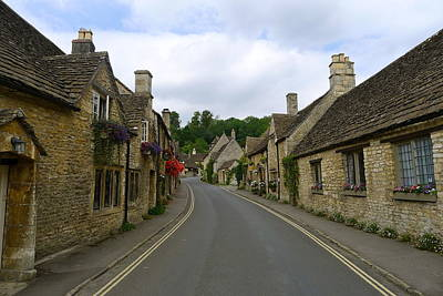 Photograph - Road Through Castle Combe by Denise Mazzocco