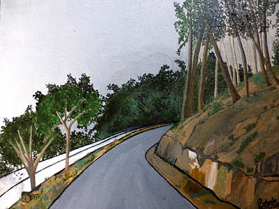 Painting - Road To The Hills by Pratyasha Nithin