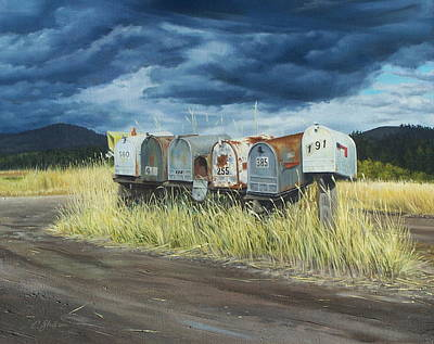 Painting - Roadside Royalty by Craig Shillam