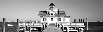 Roanoke Marshes Lighthouse, Outer Art Print by Panoramic Images