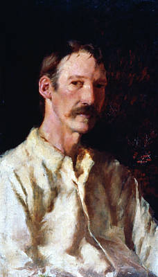 Robert Louis Stevenson (1850-1894) Art Print