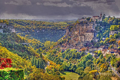 Photograph - Rocamadour by Rod Jones
