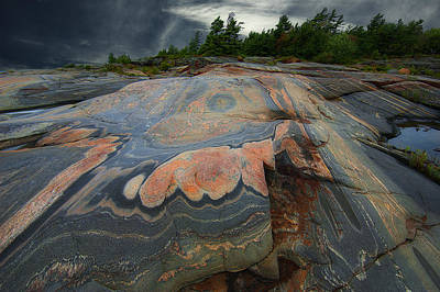 Photograph - Rock Formation Vii by Patrick Boening
