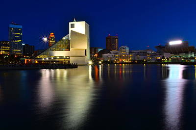 Photograph - Rock Hall Of Fame by Frozen in Time Fine Art Photography