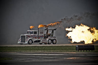 Photograph - Rocket Truck by Eric Miller