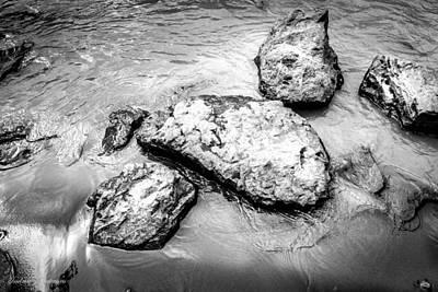 Rocks In The River Art Print