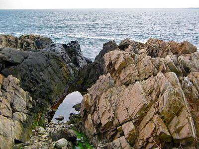 Photograph - Rocky Coast by Denise Mazzocco