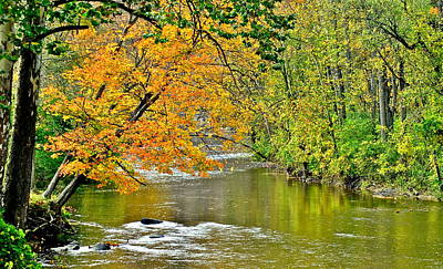 Photograph - Rocky River Ohio by Frozen in Time Fine Art Photography