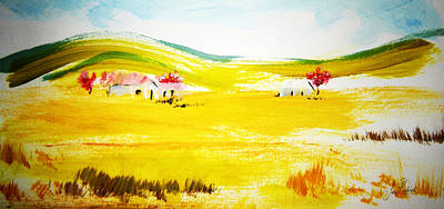Homestead Mixed Media - Rolling Hills by Sean Roderick