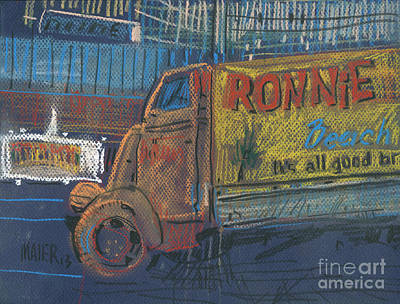 Painting - Ronnie John's by Donald Maier