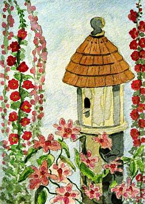 Room With A View Art Print by Angela Davies