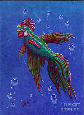 Roosterfish I Original by Fred-Christian Freer