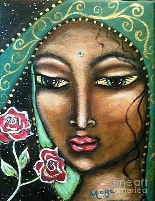 Rose Madonna Art Print by Maya Telford