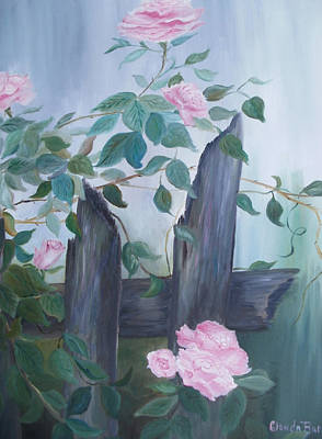 Painting - Roses by Glenda Barrett