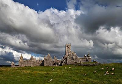 Ross Errilly Franciscan Friary 1351 Print by Panoramic Images
