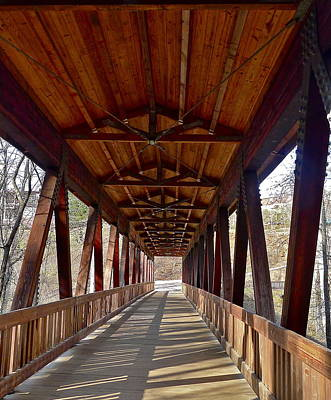 Photograph - Roswell Bridge by Denise Mazzocco