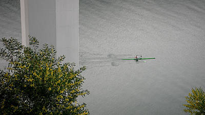 Photograph - Rower On Douro by Ari Salmela