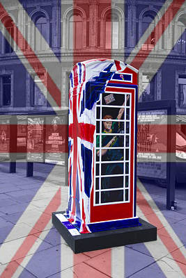 Prince Harry Photograph - Royal Telephone Box by David French