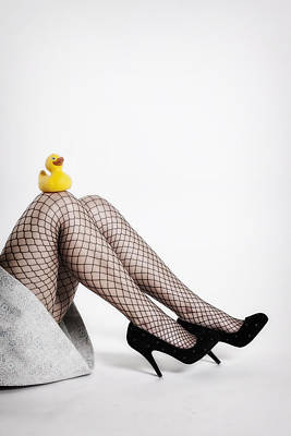 Rubber Duck Art Print by Joana Kruse