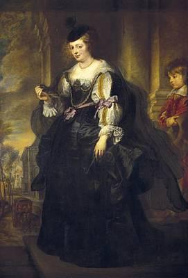Rubens, Peter Paul 1577-1640. Helena Art Print by Everett