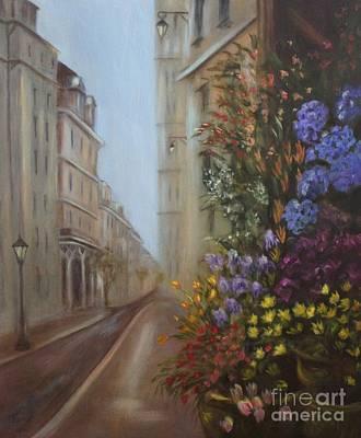 Painting - Rue De Fleur by Kathy Lynn Goldbach