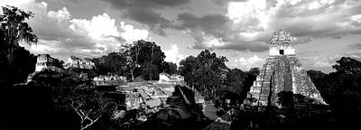 Tikal Photograph - Ruins Of An Old Temple, Tikal, Guatemala by Panoramic Images