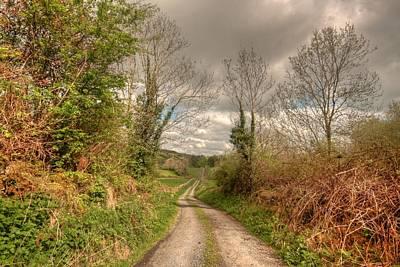Beautiful Ireland Photograph - Rural Irish Road by John Quinn
