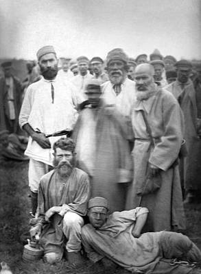 Water Jug Photograph - Russia Convicts, C1885 by Granger