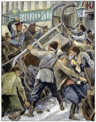 Proletariat Drawing - Russia Revolution Of 1905 by Granger