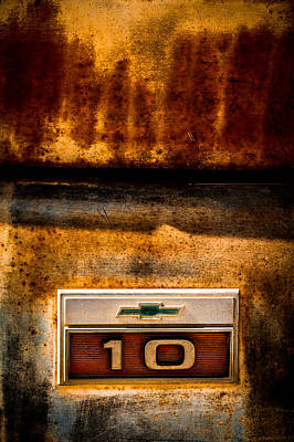 Photograph - Rusted C10 by Ron Pate