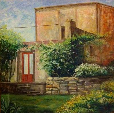 Sicily Painting - Rustico Siciliano  by B Russo
